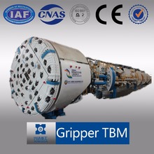 Hard Rock Gripper Tunneling Boring Machine TBM
