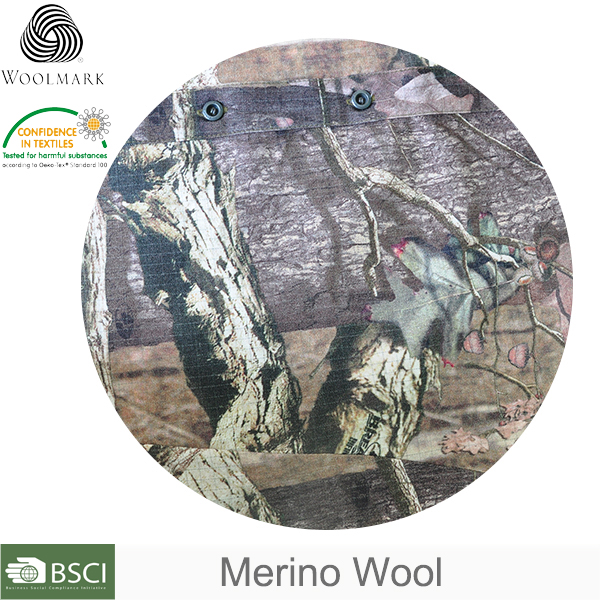 Merino wool hand woven fabric, rip stop camouflage fabric wholesale