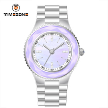 2017 Timezone branded sapphire glass cheap colorful women wrist watch