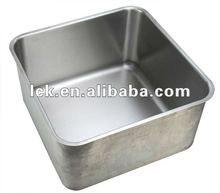 1.5mm thick stainless steel sink