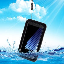 Phone Case for Galaxy Note 7 IP68 Underwater Waterproof Case Cover Protector for Samsung Galaxy Note7 N930