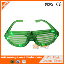 light up glasses funky party glasses sunglass manufacturer pinhole party glasses flashing eyeglass for music party