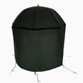 Weideng hot sale windproof rainproof outdoor finshing beach umbrella