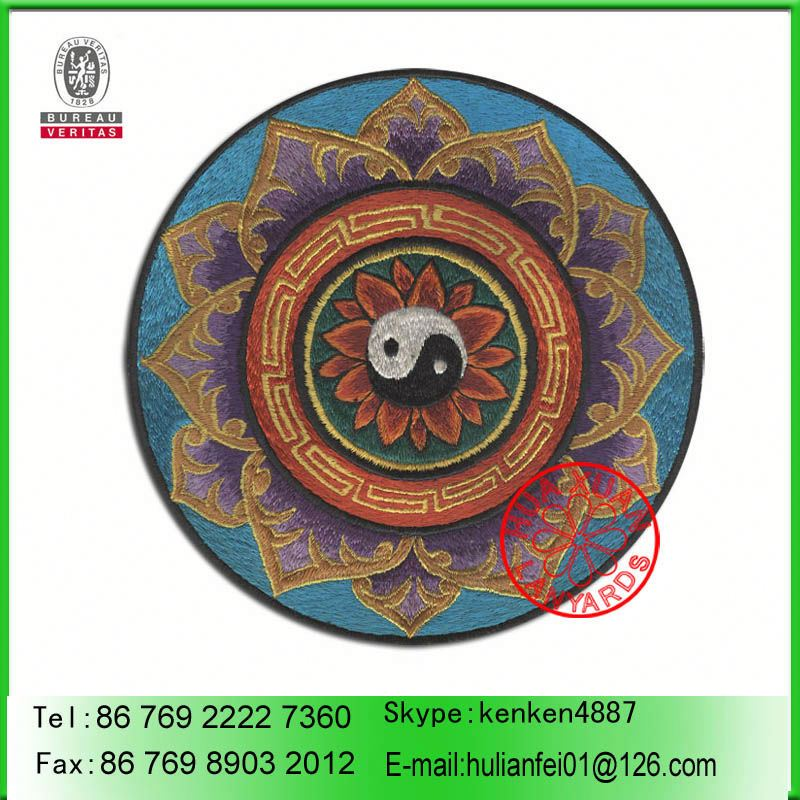 PROFESSIONAL FACTORY SUPPLY Custom nylon fabric patch