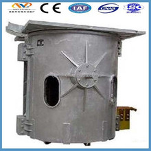 alibaba trust pass steel scrap iron smelting furnace for mini steel plant machine manufacturer