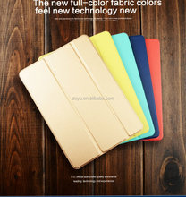 Magnetic smart case for ipadair 2 tablet pc, Ultra slim folding stand tablet pc leather case for ipad air2