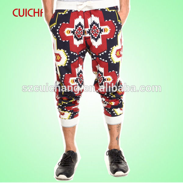 Pant, men pant,weatpants, all over print pants, fashion cheap hight quality sweatpants WYK-073