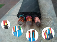 PVC/RUBBER Round/Flat welding rubber flat cable Mexico Hotselling