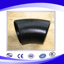 Offer carbon steel long radius elbow 45 degree