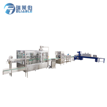 Automatic Complete Mineral Water Bottling Plant With Water Purification Machine