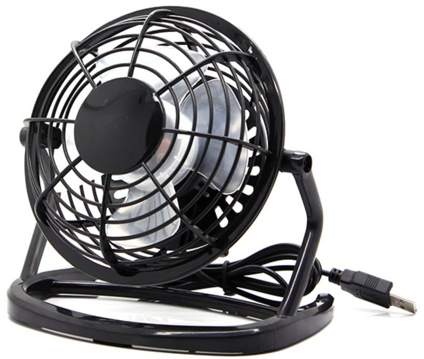 FAN0015 A.N.G. Technology USB Cooling Fan 4inch (Black Color)