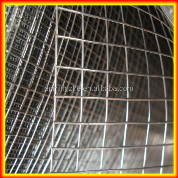 "1"" x 1/2"" 30mtr rolls welded square wire mesh/galvanized welded wire mesh farm fencing"