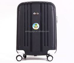 New Design 3pcs Set Spinner Pure Pp Trolley Luggage
