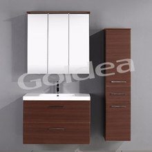 wall mounted ironing board bathroom mirror cabinet with light
