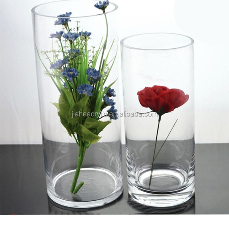 jachoo tall acrylic plexiglass round tube flower vase buy round tube flower vase plexiglass. Black Bedroom Furniture Sets. Home Design Ideas
