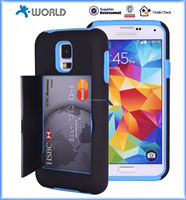 2014 New Fashion phone card case for samsung Galaxy S5