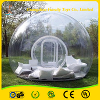 Outdoor Camping Big Transparent Inflatable Bubble Tent