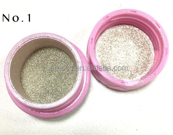 Silver gold chrome mirror powder for mirror nails mirror effect powder pigment