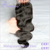 Free Shipping Overnight Delivery Body Wave 100% Human Hair Lace Closure Bleached Knots For Black Women