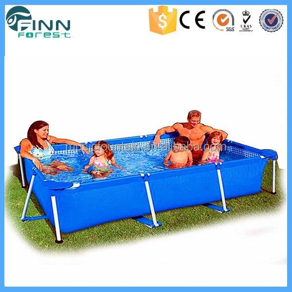 Backyard Portable Rectangular Metal Frame Sex xxxl Swimming Pool