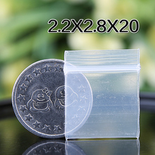 2.2x2.8cm Zip Lock Clear Resealable Heavy Duty Plastic Small Bags