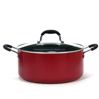 as seen on tv 2015 new products cooking pot color coating commercial stockpot