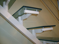 toughened laminated glass for stairs/balcony railing application