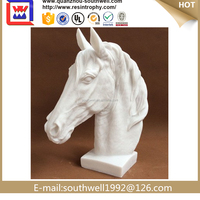 horse head home decorations,polyresin decoration of horse,Polyresin horse head decoration
