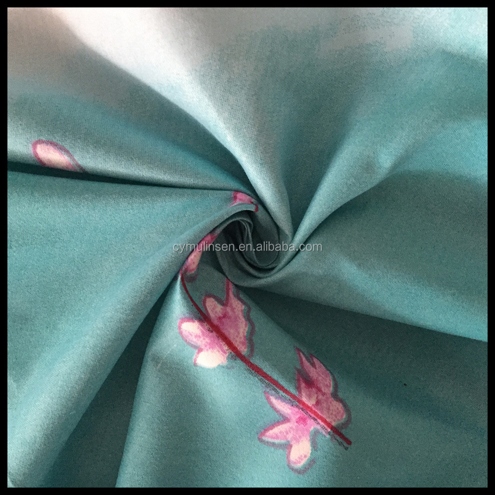 latest bed sheet designs textile material fabric for bedding sets