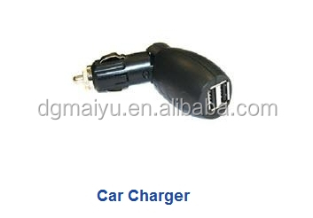 Promotional! MuYu car charger socket with two Usb port