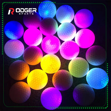 bulk colored led light balls night shiny flashing golf ball
