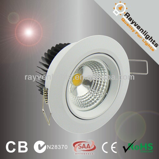 high quality 75mm cut out 5w cob led downlight component