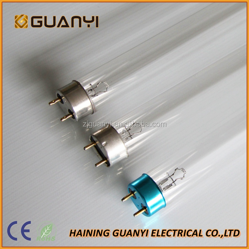 CE approved G4T5 UVC light germicidal sterilizer UV lamp 4W 6W 8W 10W 15W