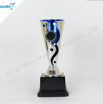 The Popular Hot-selling Plastic Sliver Trophy Cup