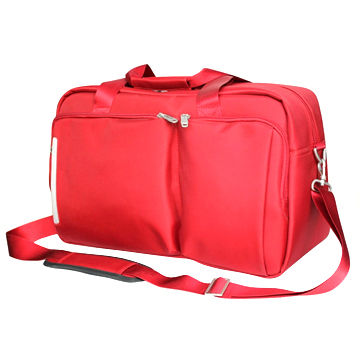 Fashionable sport duffel travel bag