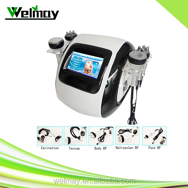 5 in 1 radio frequency cavitation belly fat reducer machine