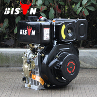 BISON(CHINA)Factory Direct Sale Air Cooled Diesel Engine 5hp