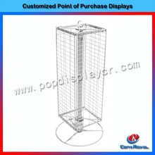 Hot sale rotating metal hanging jewelry display stand