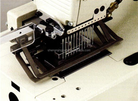 Multi- Needle Double Chain Stitch Secondhand Kansai Special DFB-1412 Sewing Machine