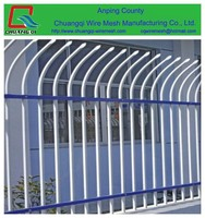 low price wrought Iron fence, metal fence/flower garden fencing manufacturer