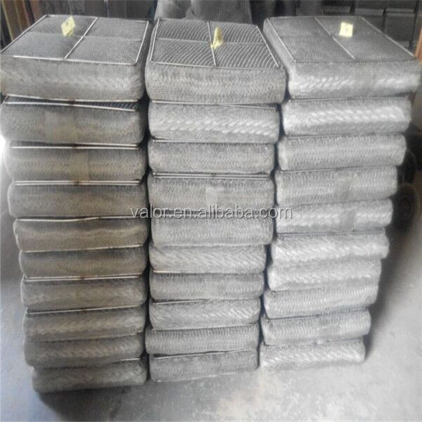 high quality demister pad knited wire mesh on sales