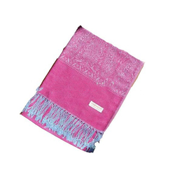 Fashion design wholesale custom logo ladies woven pashmina scarf