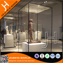 Wholesale Used Glass Museum Pedestal Display Cases