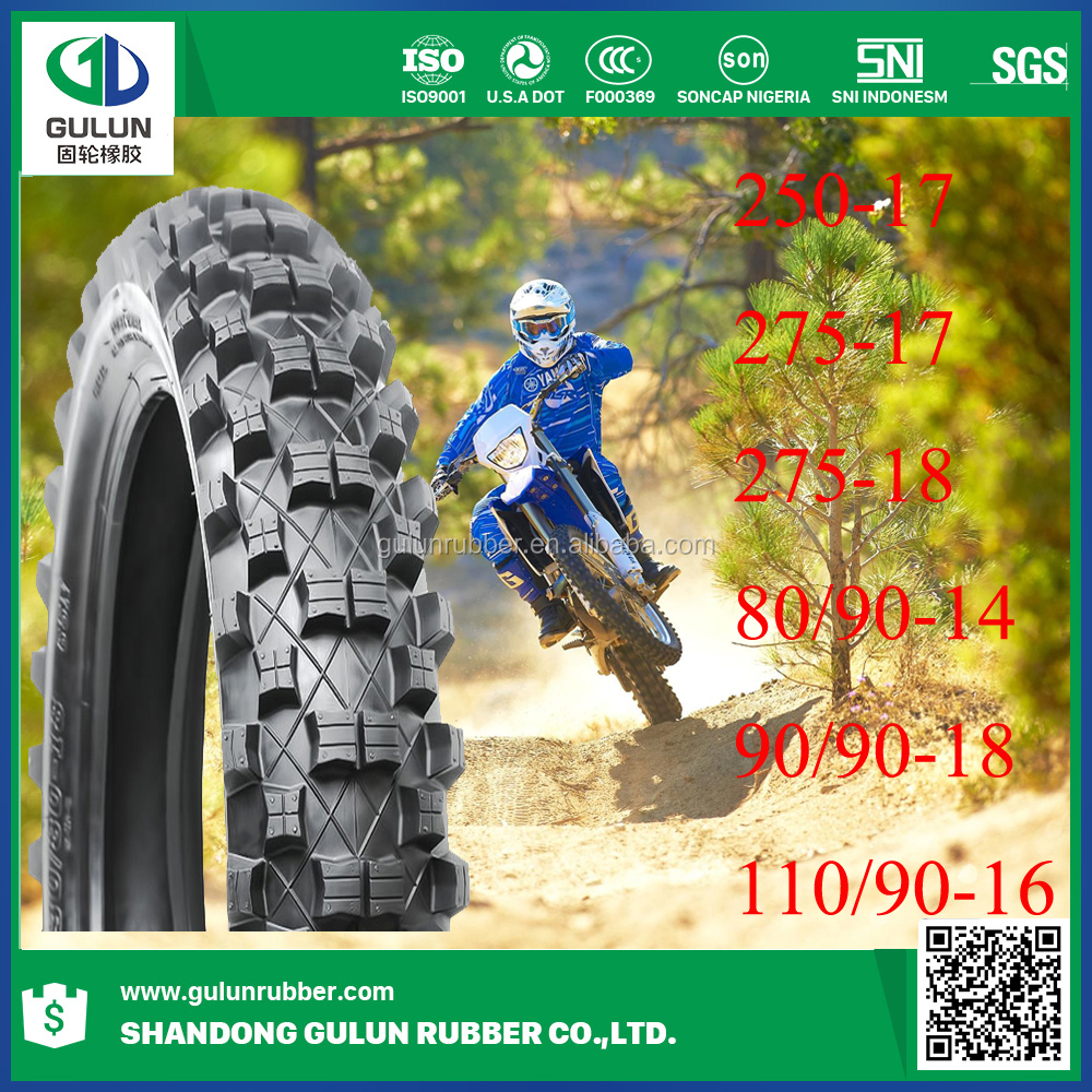 Wear resisting natural rubber motorcycle tire 300-18 250-17 130/60-13 90/90-18 130/70-12