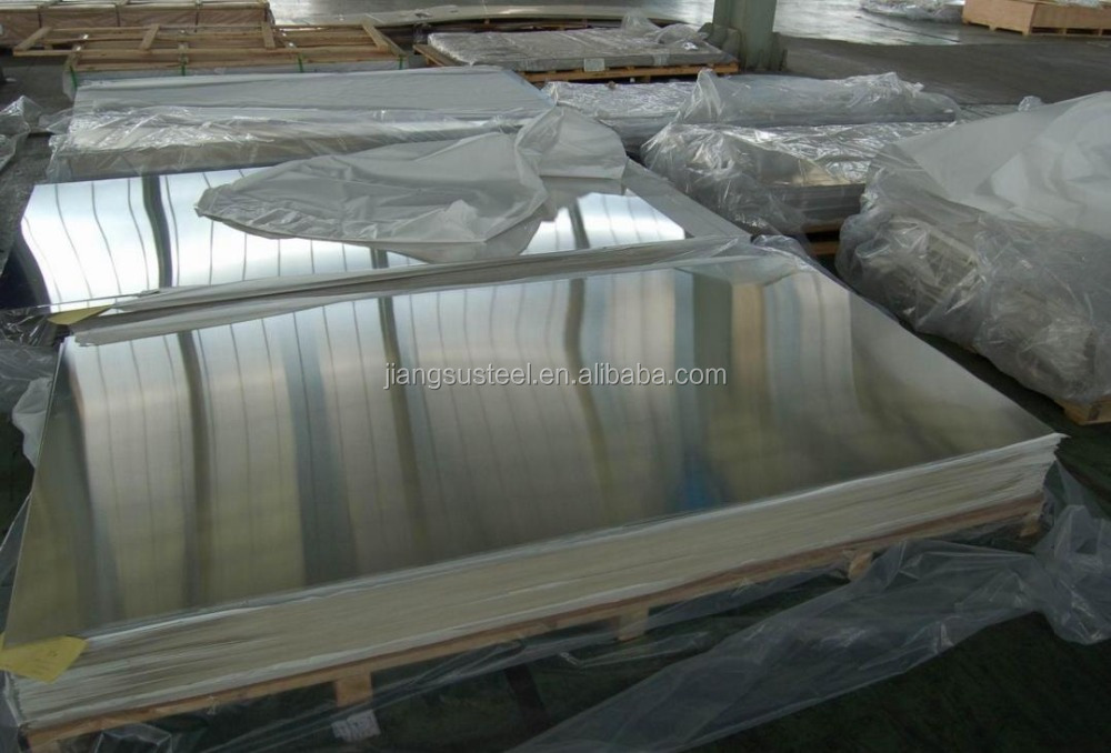 stainless steel 304 plate 2B BA NO.4 Mirror