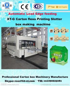 corrugated printing machine