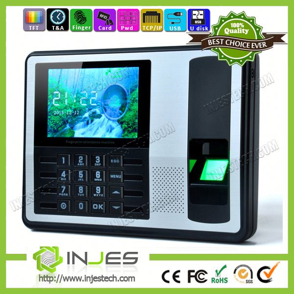 Large Screen C# Sdk Available Fingerprint Desktop Biometric Time Clock
