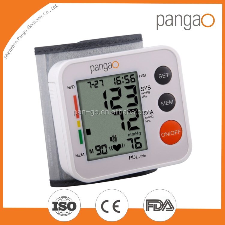 Chinese manufacturer wrist blood pressure monitor CE0413 FDA510k