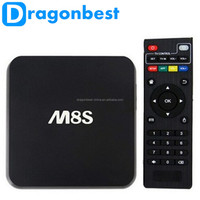 Hot New Products In Stock M8S Android Smart 4K Tv Box Build In Camera