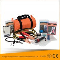 wholesale products china car roadside emergency kit with foldable bag